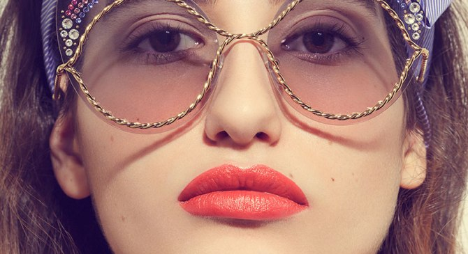 GLAMOUR |sunglasses Beauty Editorial