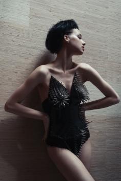 photographer: susanne spiel / www.susannespiel.com model: maria / mango models hair: denis perani makeup: nieves elorduy styling: greta olsson korsett: discocaine / @discocaine