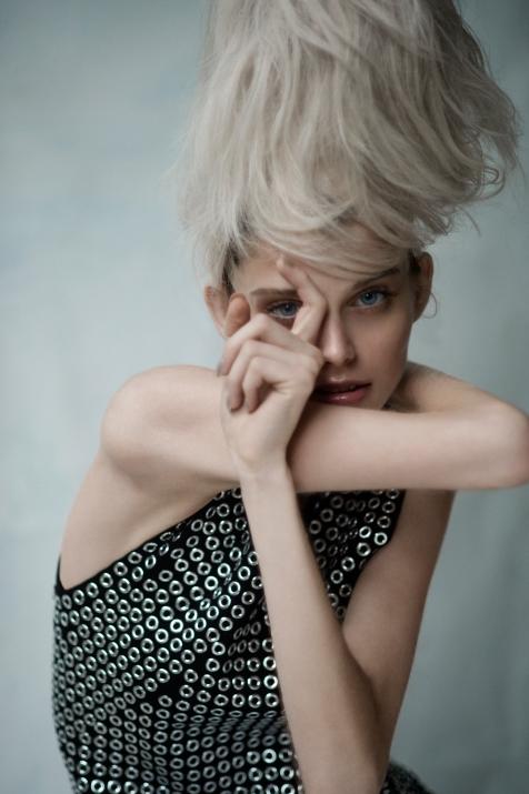 photographer: susanne spiel / www.susannespiel.com model: petra / wiener models hair: denis perani makeup: nieves elorduy styling: grrreta olsson